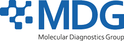 MDG – Molecular Diagnostics Group Logo